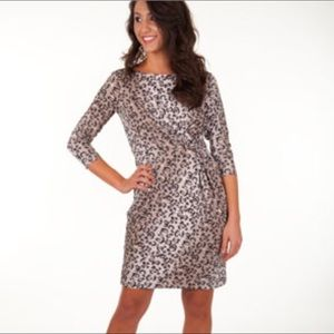 NWT Marilyn Cheetah Gold Dress